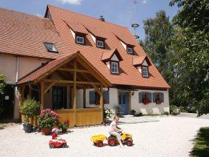 Kinder-Fahrzeuge auf dem Ferienhof Scheckenbauer