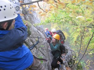 Klettern am Oberlandsteig
