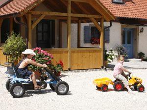 Kinder-Fahrzeuge beim Scheckenbauer