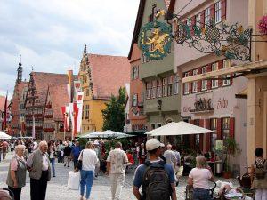 Dinkelsbühl, eine beliebte spätmittelalterliche Stadt
