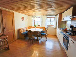 Küche in unserer Ferienwohnung 1