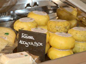 Käse aus regionaler Herstellung